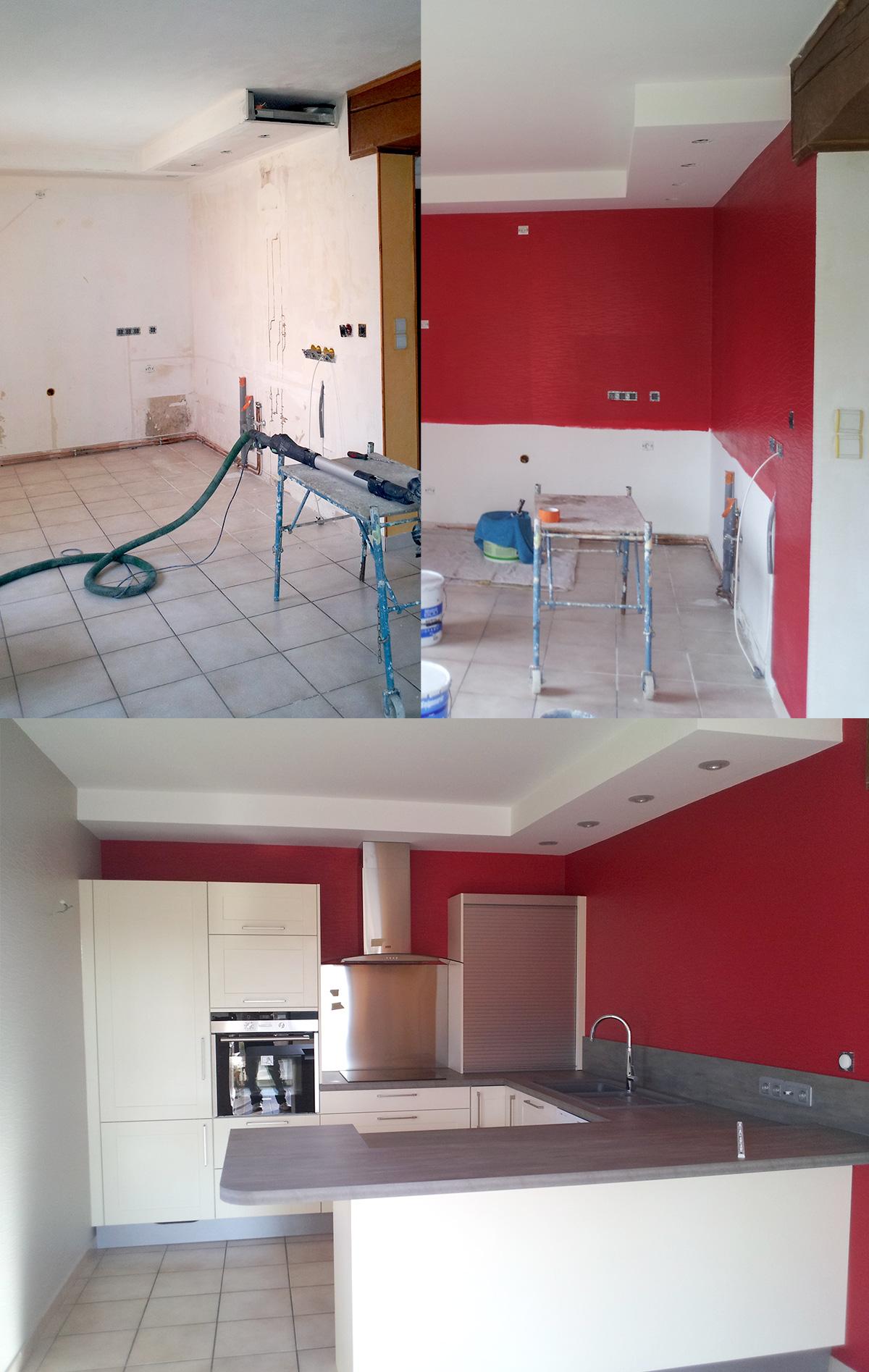 Peinture facade cuisine repeindre une facade 11 mur for Peinture murale pour cuisine blanche